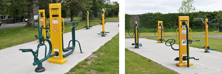Cuisle Outdoor Gym